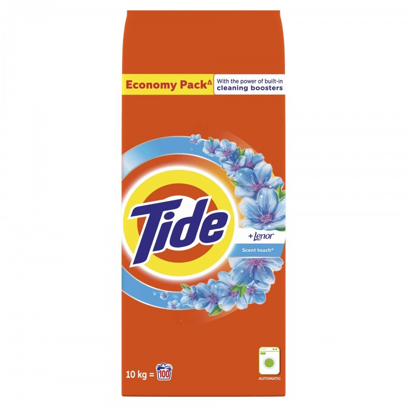 Detergent de rufe Tide automat 2 in 1 Lenor Touch, 10 kg 2021 shopu.ro