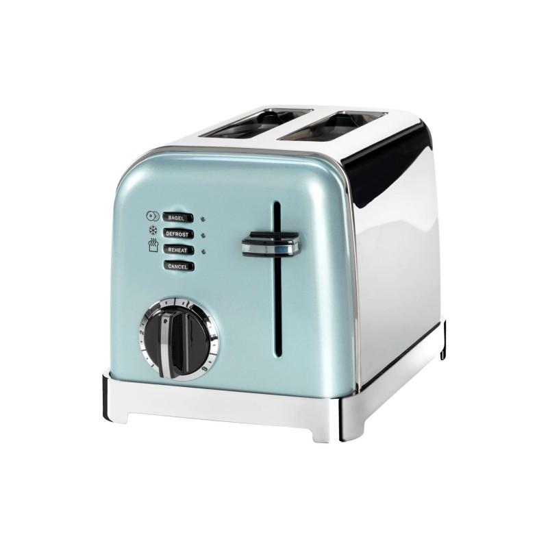 Toaster Cuisinart, 900 W, 6 setari rumenire, 2 felii, otel inoxidabil, Pistachio 2021 shopu.ro