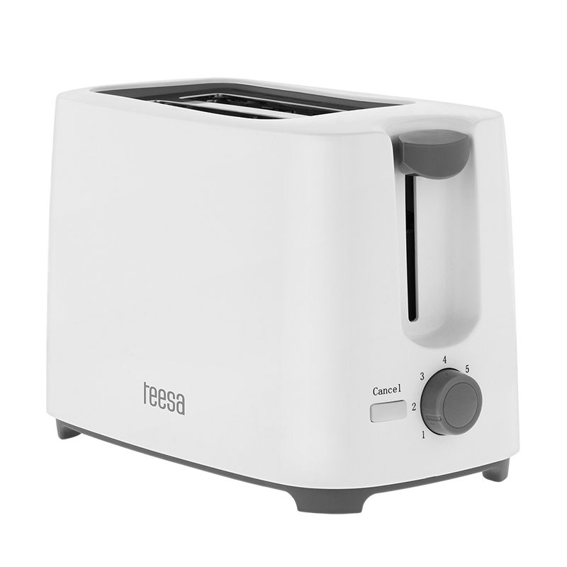Toaster Teesa, capacitate 2 felii, carcasa neincalzita, 700 W 2021 shopu.ro