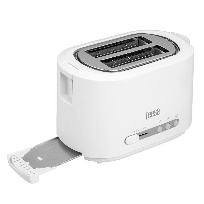 Toaster Teesa, 2 felii, carcasa otel inoxidabil, 850 W