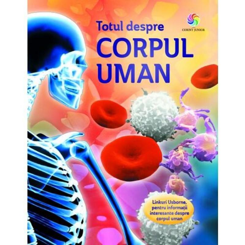 Carte educativa pentru copii Totul despre corpul uman Corint, 5 ani+ 2021 shopu.ro