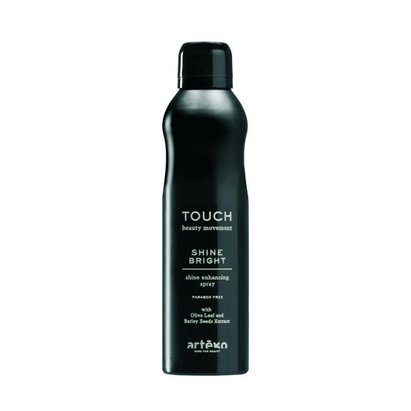 Spray de luciu puternic Touch Shine Bright Artego, 250 ml 2021 shopu.ro
