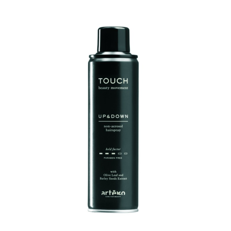 Fixativ non-aerosol Touch Up&Down Artego, 400 ml, grad de fixare 3