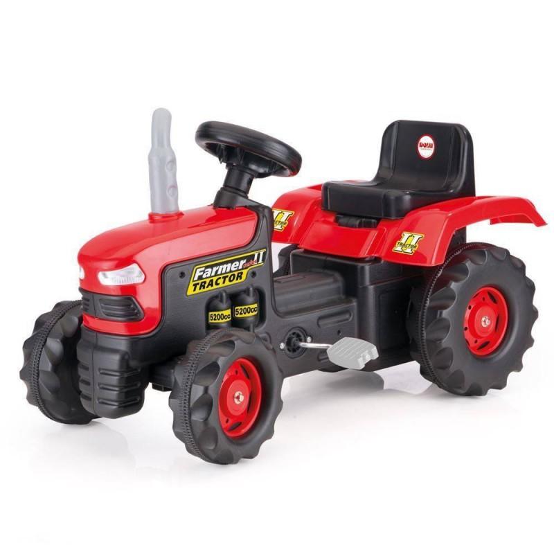 Tractor cu pedale dotat cu volan usor de manevrat, 52 x 43 x 83 cm, maxim 35 kg 2021 shopu.ro