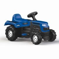 Tractor cu pedale, 52 x 81,5 x 45 cm, maxim 35 kg, Albastru