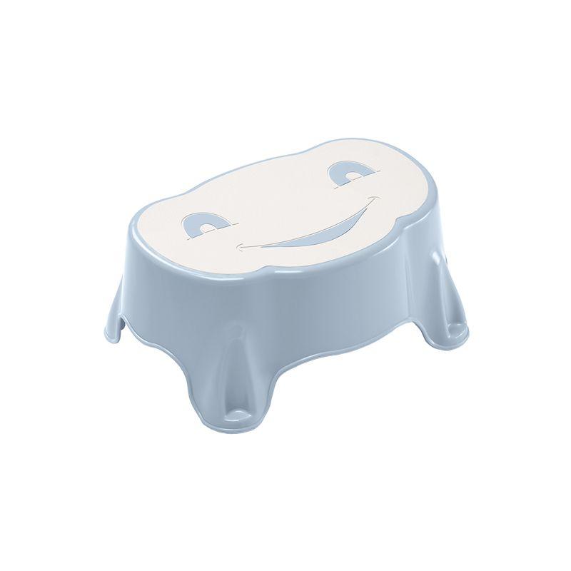 Inaltator pentru baie Babystep Thermobaby, 22 x 32 x 14 cm, maxim 150 kg, model baby blue 2021 shopu.ro