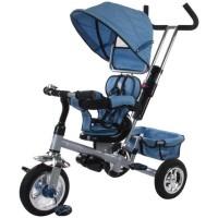 Tricicleta Confort Plus Sun Baby, suporta maxim 25 kg, Melange Albastru