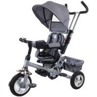 Tricicleta Confort Plus Sun Baby, suporta maxim 25 kg, Melange Gri