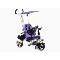 Tricicleta Baby Mix, 80 x 50 cm, prindere in 5 puncte, maxim 30 kg, 18 luni+, Violet