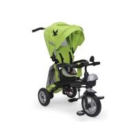 Tricicleta Fenix Moni, 70 x 23.5 x 38 cm, scaun reversibil, maxim 25 kg, 3 ani+, Verde