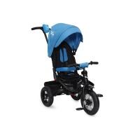 Tricicleta Jockey  Moni, maner reglabil, maxim 30 kg, 3-6 ani, Albastru