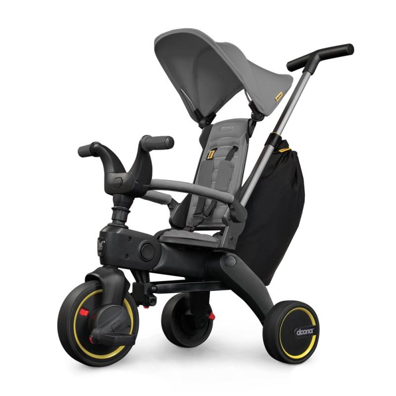 Tricicleta Liki Trike Grey Hound Doona, centura prindere, pedale detasabile, 10 luni+ 2021 shopu.ro