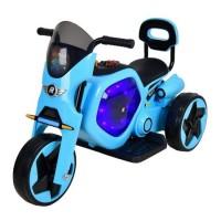 Tricicleta electrica DHS, 25 W, 4.5 Ah, roti poliuretan, maxim 25 kg, Albastru