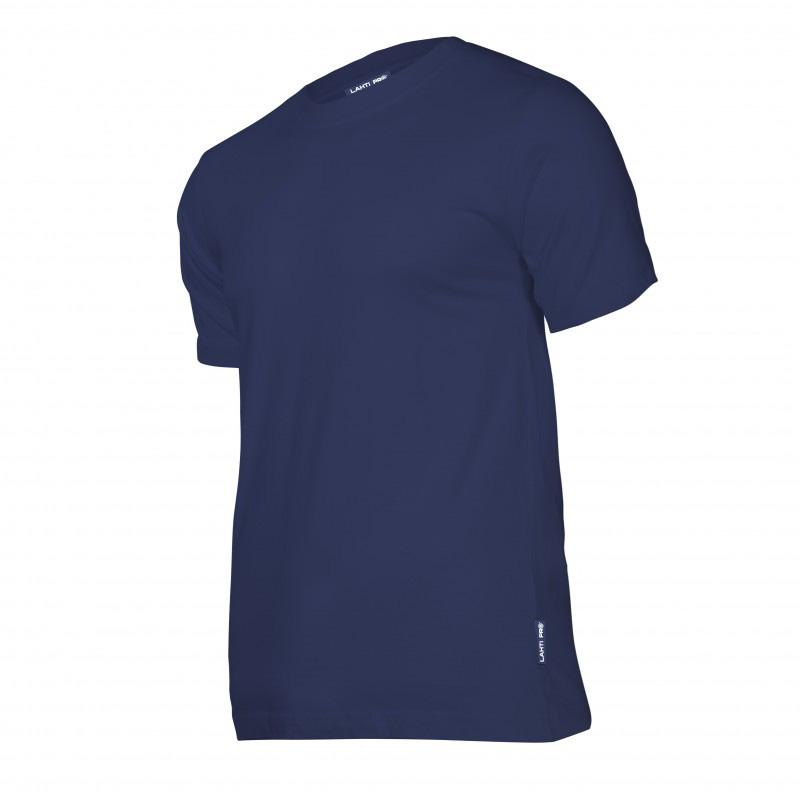 Tricou bumbac Lahti Pro, marimea M, albastru shopu.ro