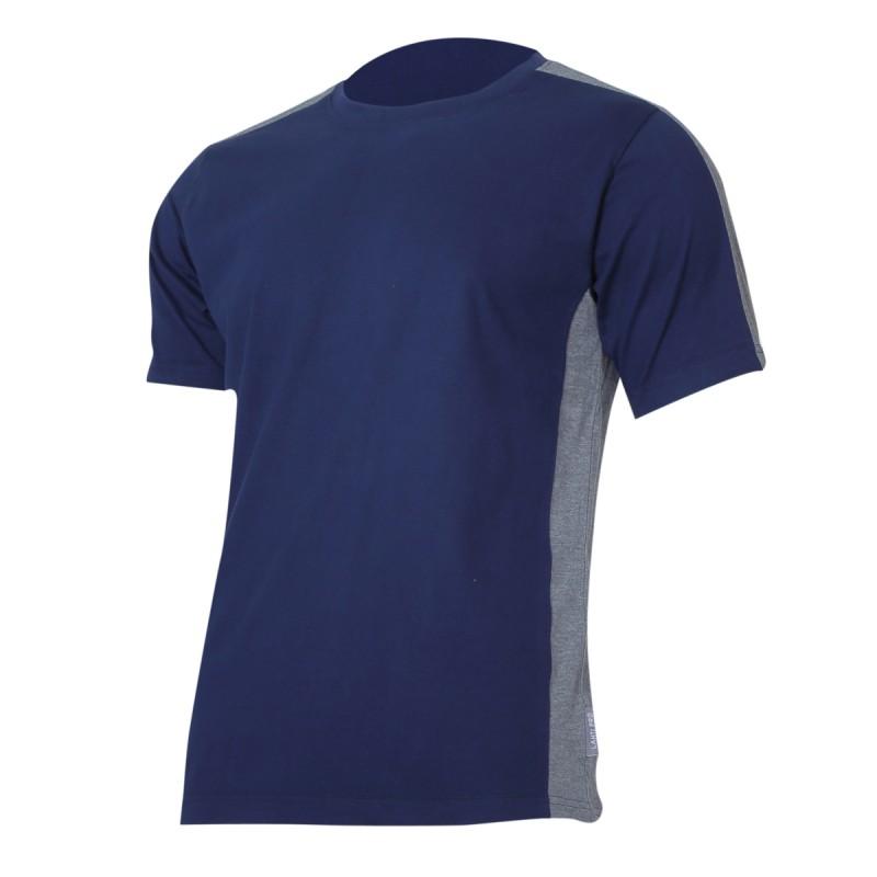 Tricou bumbac Lahti Pro, marimea 2XL, albastru/gri shopu.ro