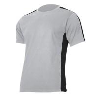 Tricou bumbac Lahti Pro, marimea 3XL, gri/negru