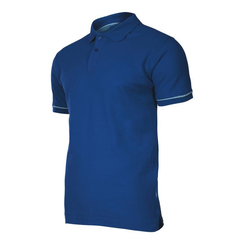 Tricou bumbac Polo Lahti Pro, marimea S, bleumarin shopu.ro