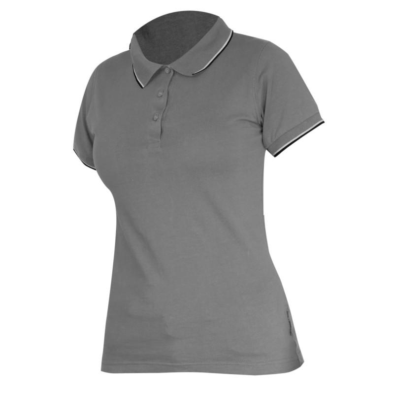 Tricou bumbac Polo Dama Lahti Pro, marimea L, gri shopu.ro