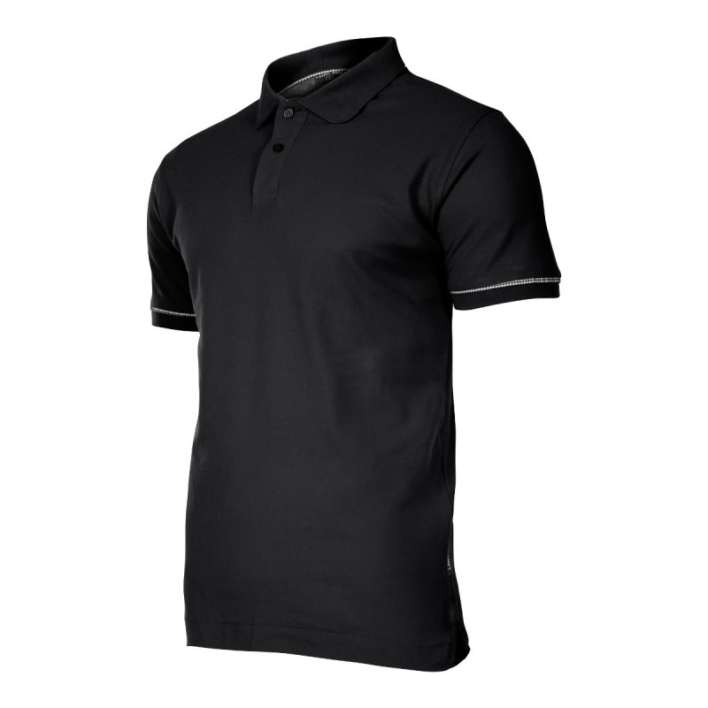 Tricou bumbac Polo Lahti Pro, marimea 3XL, negru 2021 shopu.ro