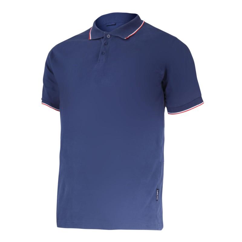 Tricou bumbac Polo subtire Lahti Pro, marimea L, albastru shopu.ro