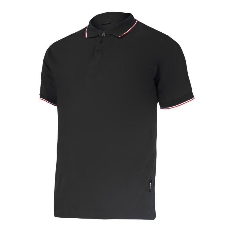 Tricou bumbac Polo subtire Lahti Pro, marimea XL, negru 2021 shopu.ro