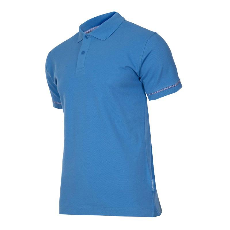 Tricou bumbac Polo Lahti Pro, marimea XL, albastru 2021 shopu.ro