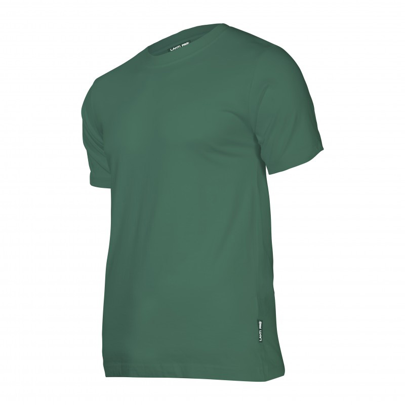 Tricou bumbac Lahti Pro, marimea S, verde shopu.ro