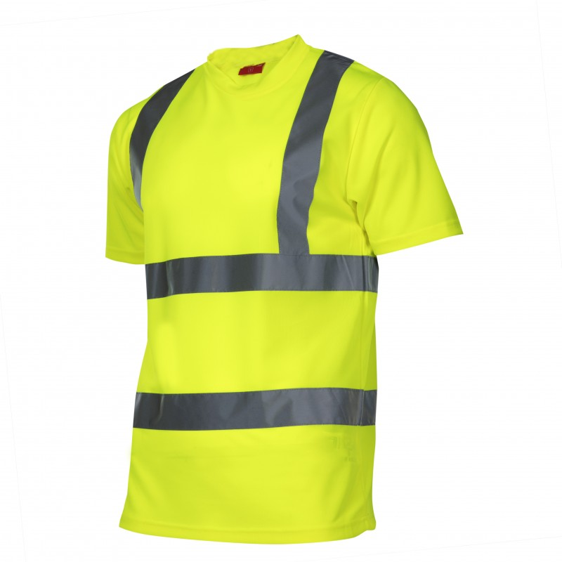 Tricou reflectorizant Lahti Pro, marimea M, verde