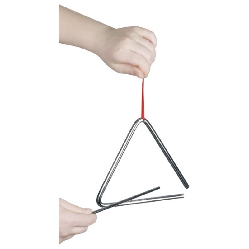 Trianglu muzical Goki, 16 cm, metal, 3 ani+ 2021 shopu.ro