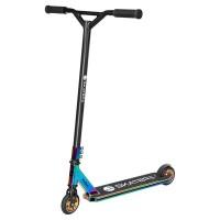 Trotineta Acrobatii Skater Pro Rebel, 670 x 550 x 880 mm, aluminiu, maxim 100 kg, 8 ani+, Neon