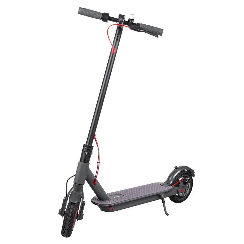 Trotineta Electrica Fast Wheels Pro, 250 W, maxim 30 km/h, greutate maxima 120 kg 2021 shopu.ro