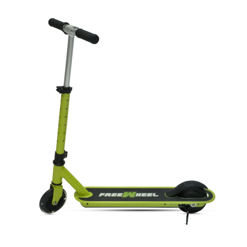 Trotineta electrica Rider Joy FreeWheel, 100 W, 6 km/h, maxim 5 km, otel, maxim 50 kg, lumini LED 2021 shopu.ro