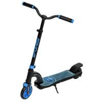 Trotineta electrica Mobius Young DHS, 200 W, 12 km/h, roti 5.5 inch, aluminiu, maxim 80 kg, Negru/Albastru