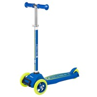Trotineta Kid Wheels Rebel, 575 mm x 250 mm x 855 mm, ghidon reglabil, 3 ani+, Albastru/Galben