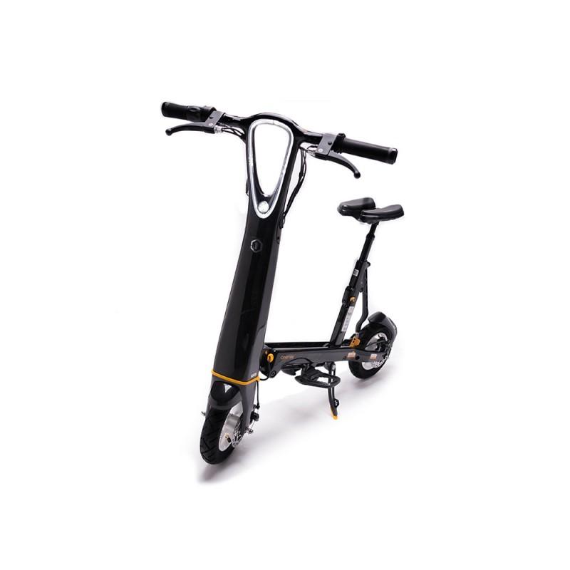 Trotineta Hallo City OneMile, 250 W, 25 km/h, autonomie 35 kg, maxim 120 kg, Negru 2021 shopu.ro