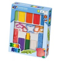 Trusa modelaj pentru copii Feuchtmann, non-toxica, 8 batoane colorate