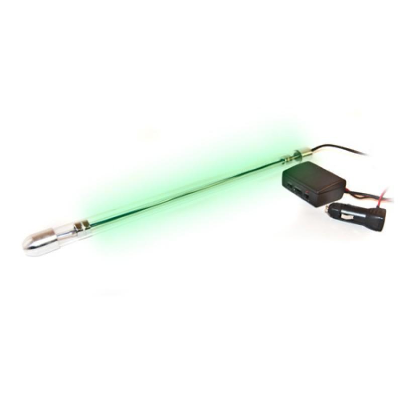Tub neon pentru stroboscop, 8 inch, Verde 2021 shopu.ro