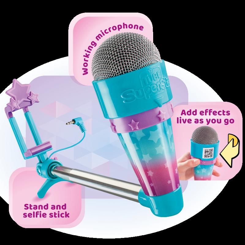 Microfon pentru copii Tube Superstar, 6 ani+ 2021 shopu.ro