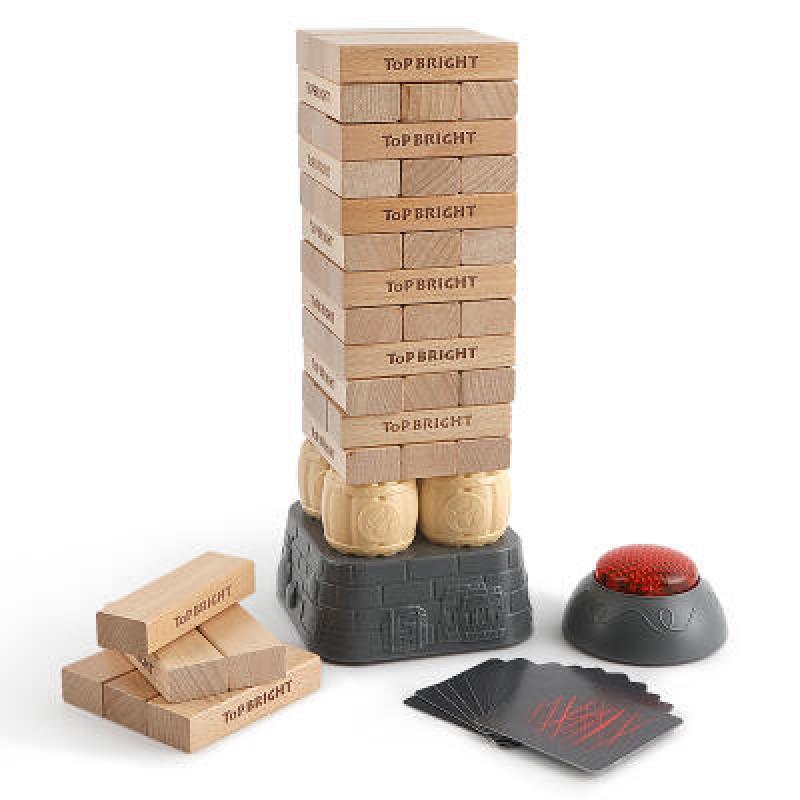 Joc turn instabil cu buzzer Topbright, 2-4 jucatori, 3 ani+ 2021 shopu.ro