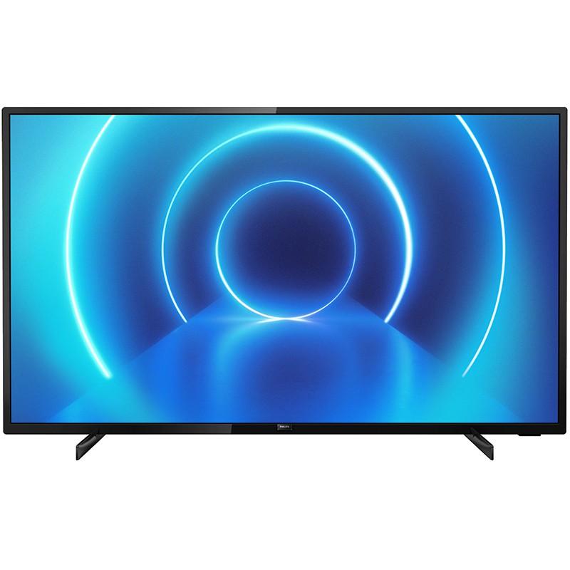 Televizor Ultra HD Smart Philips, 43 inch, 108 cm, 4K, 3840 x 2160 px, ecran LED, Negru 2021 shopu.ro