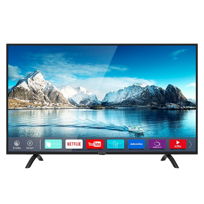 Televizor 4K Ultra HD Smart Kruger&Matz, 50 inch/127 cm, 3840 x 2160 px, D-LED, Negru 2021 shopu.ro