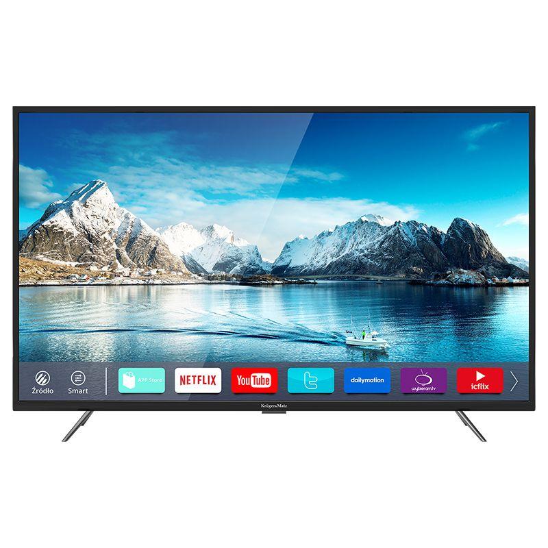 Televizor smart 4K ultra HD Kruger Matz, diagonala 65 inch