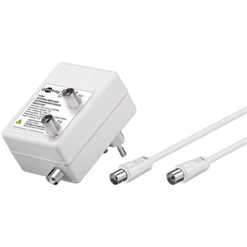 Amplificator TV AMP, 2 x 10 dB, DVB-T / DVB-T2 / DVB-C 2021 shopu.ro