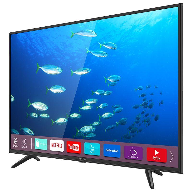 Televizor Smart Full HD Kruger Matz, diagonala 108 cm, rezolutie 1920 x 1080 px, D-LED