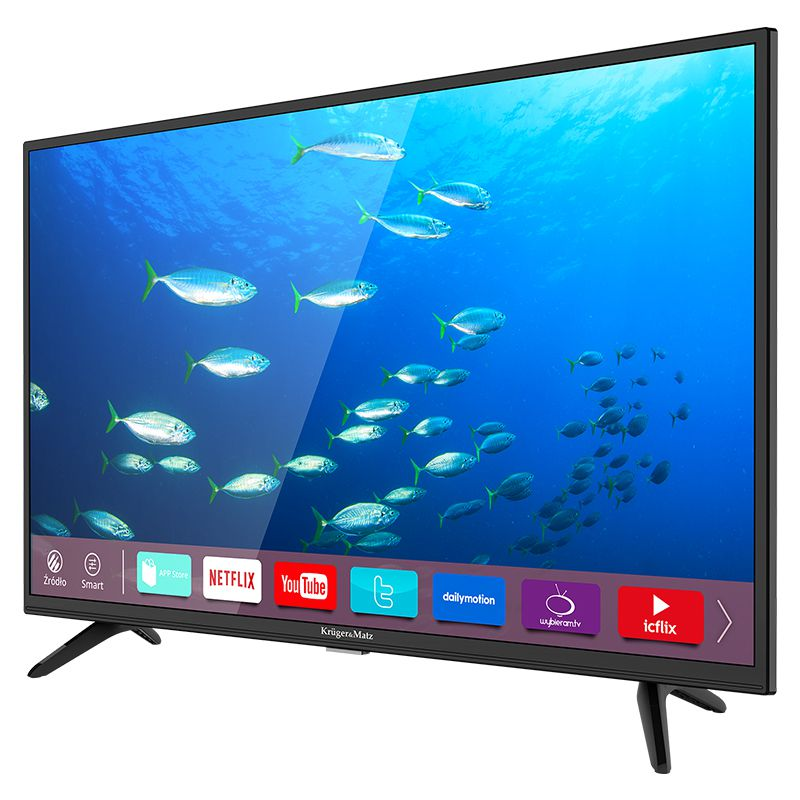 Televizor Smart HD Kruger Matz, diagonala 81 cm, rezolutie 1366 x 768 px, D-LED