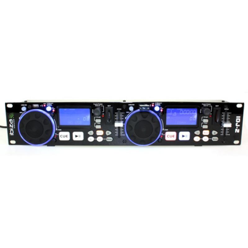 Twin media controller, USB, SD, LCD albastru, memorie anti-soc