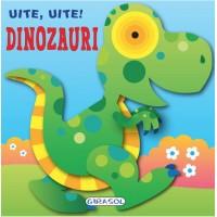 Carte cartonata Uite, uite! Dinozauri, 8 pagini