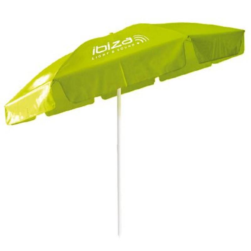 Umbrela pentru plaja Ibiza, 205 x 175 cm, verde 2021 shopu.ro