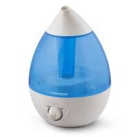 Umidificator Esperanza Cool Vapor, 2.6 l, mecanic, alb/albastru