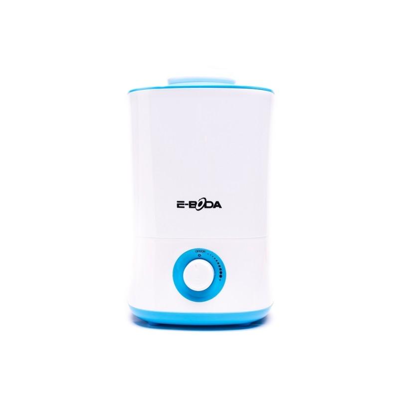 Umidificator Breeze E-Boda, 32 W, 200-300 ml/h, autonomie 10-12 h, 4 l, Alb/Albastru 2021 shopu.ro